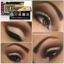 Cut crease eyeshadow using Anastasia catwalk palette