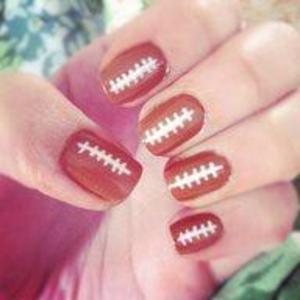 Monday Night Football Nails