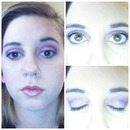 Purples. Perfect for Brown eyes.