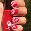 """""""Red"""" Nails (from our 31 day challenge)"""