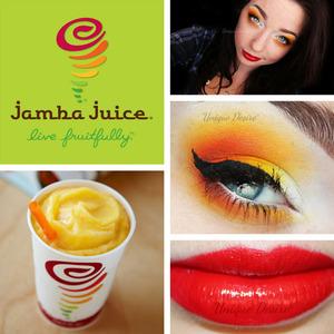 Inspired by Jamba Juice's Tropical Mango smoothie!