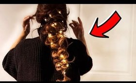 ★CRAZY LIT HOLIDAY HAIRSTYLES 💗 CUTE BRAID HACKS for LONG MEDIUM HAIR TUTORIAL