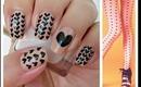 Nail Art - Black Hearts - Decoracion de uñas - Corazones Negros