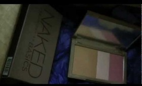 Unboxing New Urban Decay Products