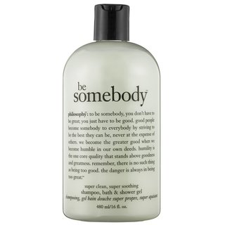 Philosophy Be Somebody. Super Clean, Super Soothing Shampoo, Bath & Shower Gel