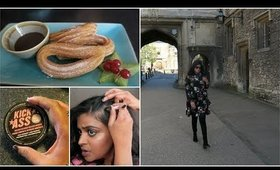 A Pointless Vlog: Temporary hair colour, drive to Oxforshire and a mini Boots haul    Snigdha Reddy