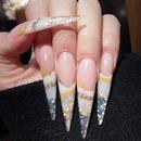Stileto Acrylic Nails