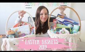WHAT'S IN MY KIDS EASTER BASKETS 2019   AFFORDABLE TODDLER EASTER BASKETS IDEAS FOR A BOY + GIRL