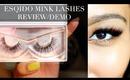 Esqido Mink Lashes Review/Demo   Kalei Lagunero