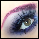 Glitter brows!