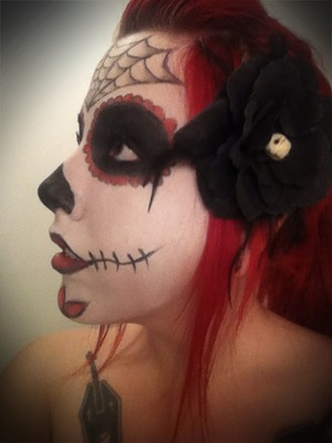 Halloween 2011 look i did for work!