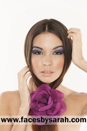 Makeup: Sarah Chaudhry  Hair: Sarah Chaudhry  Model: Jennifer Polce  Photography: Aylwin