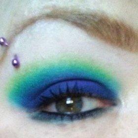 Eye makeup closeups