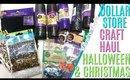 DOLLAR STORE CRAFT HAUL, Dollar store Halloween Craft Haul 2019, Dollar Store Christmas Craft Haul