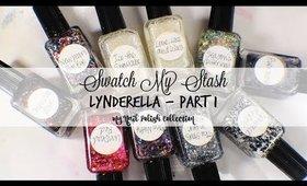 Swatch My Stash: Lynderella Part 1 - My Nail Polish Collection | yukieloves //warmvanillasugar0823