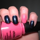 China Glaze First Class Ticket & Shocking Pink