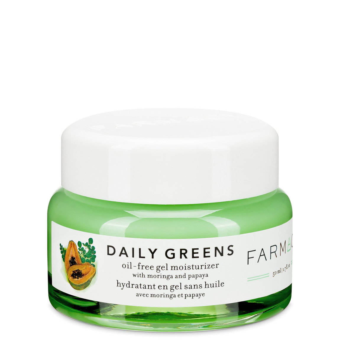 Farmacy Daily Greens Oil-Free Gel Moisturizer alternative view 1 - product swatch.