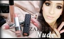Nowe szminki i błyszczyki nude:)
