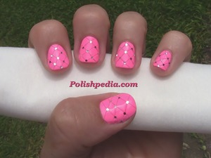 I loved doing this design especially because of the tools I used.  See the complete video @ http://polishpedia.com/quilted-nails.html