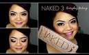 Urban Decay Naked 3 Makeup Tutorial //  everyday look // villabeautifful