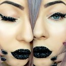 Black diamonds makeup