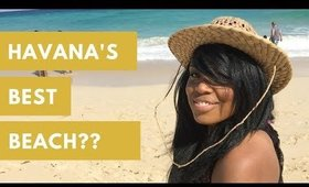 Goodbye HAVANA! But First, the BEACH! *Santa Maria del Mar* | Cuba Travel Vlog (Part 3)