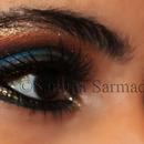 Arabic Eye Make up