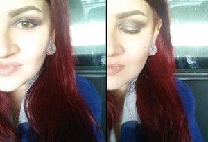Eye shadow: Bobbi Brown Velvet Plum   Lips: ABH liquid lipstick in Pure Hollywood
