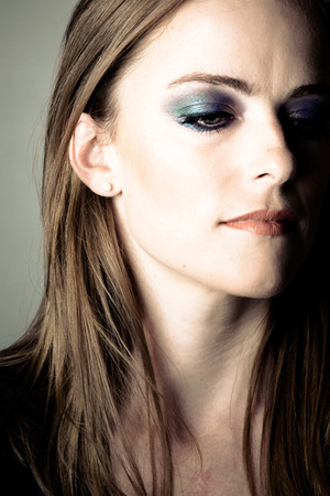 Jewel-toned smoky eye, inspired from Roberto Cavalli Fall Runway 2012