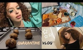 Quarantine Vlog: Rooftop Picnic, Content Creation & Running Errands! Alexis the G