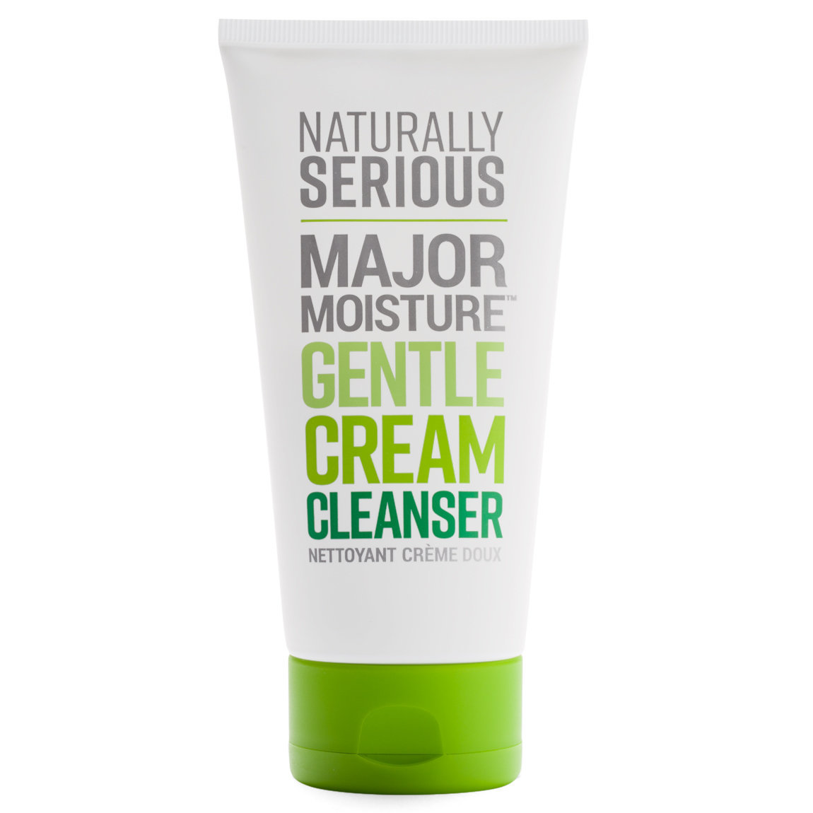 Naturally Serious Major Moisture Gentle Cream Cleanser product swatch.