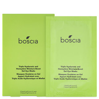 boscia Triple Hyaluronic & Honeydew Moisture-Boost Gel Eye Masks