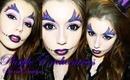 "PinkStylist-""Villians in Vogue"" Contest Entry-Purple Enchantress make-uptutorial"