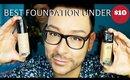 Best Foundation Under $10! Maybelline vs Revlon Foundation - mathias4makeup