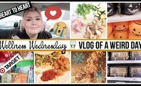 Wellness Wednesday: A Heart to Heart Update, Flat Tire, Breakfast Burrito & Snow Storm