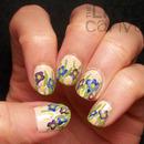 Crocus Nail Art