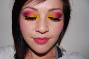Burning Sunset Tutorial Eyes