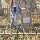 Grave yard girl