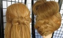 2 In 1 Summer Bow Hairstyles