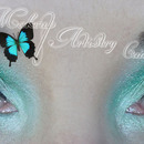 Green Saint Patricks Day Makeup