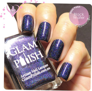 Glam Polish Dark Water, part of a limited edition Halloween duo set, exclusively available at http://meimeisignatures.com