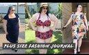 Plus Size Fashion | Watermelon Bikini & Velvet Dress Gwynnie Bee Review