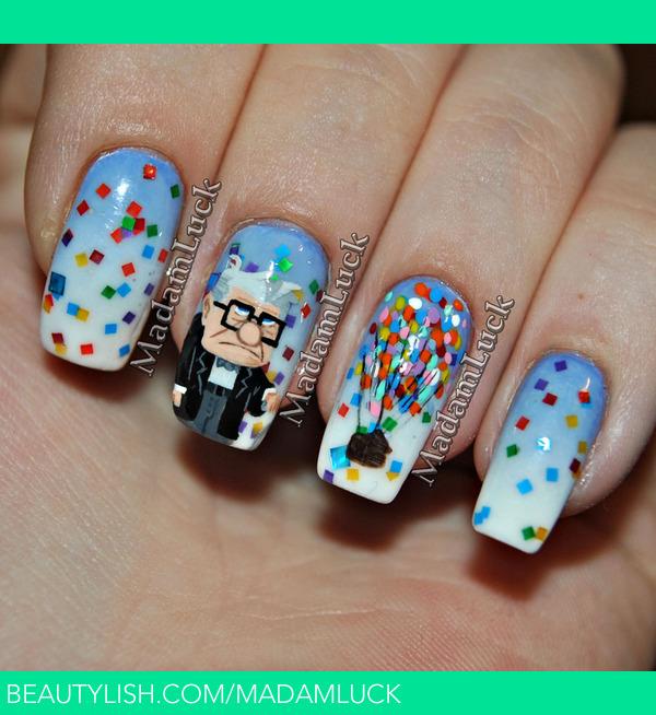 Upvie Inspired Nail Art Amanda Ss Madamluck Photo