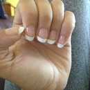 At home French tip