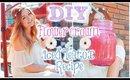 SPRING DIY 🌷 FLOWER CROWN & ICED TEATOX RECIPE