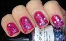 Glitter Nail Polish Swatches- Cute Glitter Nails Lacquer For Elixir Nail Polish Collection Review