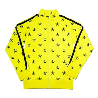 Hot Yellow Track Jacket