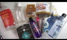 September 2018 Empties!! Urban Decay, Pacifica, Jeffree Star, and MORE!!