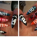 Throwback Spurs NBA FINALS NAILS 2013