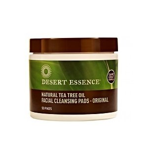 Desert Essence Tea Tree Oil Facial Cleansing Pads